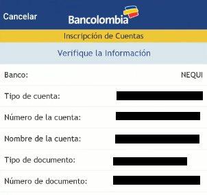 como consignar a nequi desde bancolombia