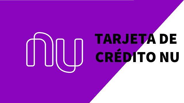 Tarjeta de crédito Nu