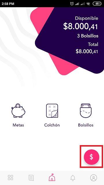 transferir dinero desde Nequi